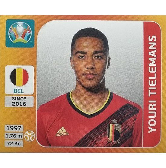 Panini EURO 2020 Sticker Nr 134 Youri Tielmans