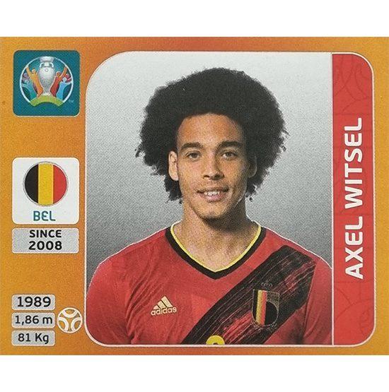 Panini EURO 2020 Sticker Nr 136 Axel Witsel