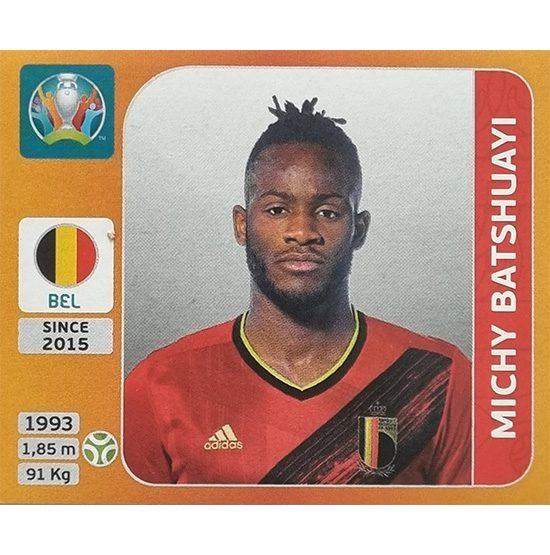 Panini EURO 2020 Sticker Nr 137 Michy Batshuayi