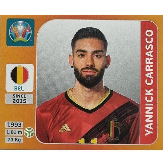 Panini EURO 2020 Sticker Nr 138 Yannick Carrasco