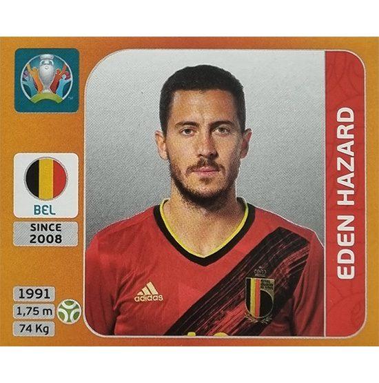 Panini EURO 2020 Sticker Nr 140 Eden Hazard