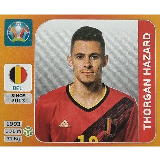 Panini EURO 2020 Sticker Nr 141 Thorgan Hazard