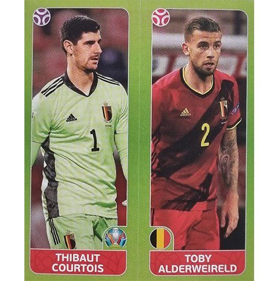 Panini EURO 2020 Sticker Nr 144 Courtoies Alderweireld