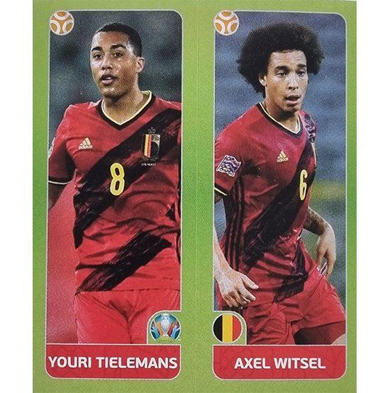 Panini EURO 2020 Sticker Nr 147 Tielemans Witsel