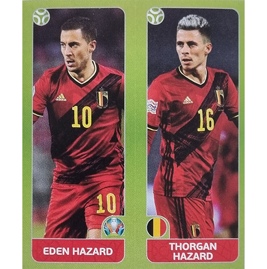 Panini EURO 2020 Sticker Nr 148 Hazard