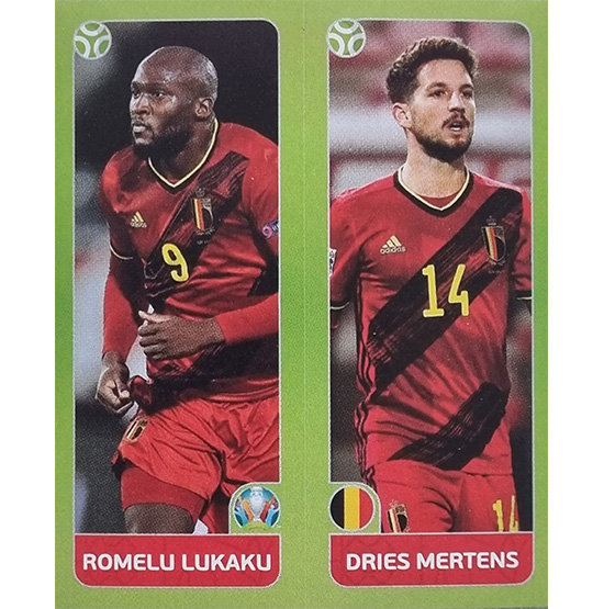 Panini EURO 2020 Sticker Nr 149 Lukaku Mertens