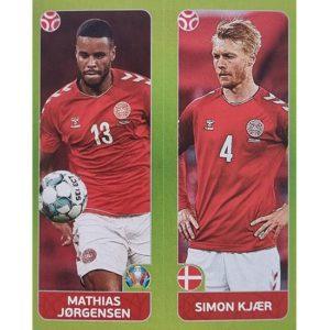 Panini EURO 2020 Sticker Nr 151 Jorgensen Kjaer