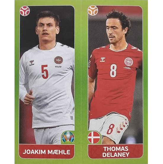 Panini EURO 2020 Sticker Nr 152 Maehle Delaney