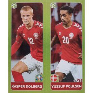 Panini EURO 2020 Sticker Nr 155 Dolberg Poulsen