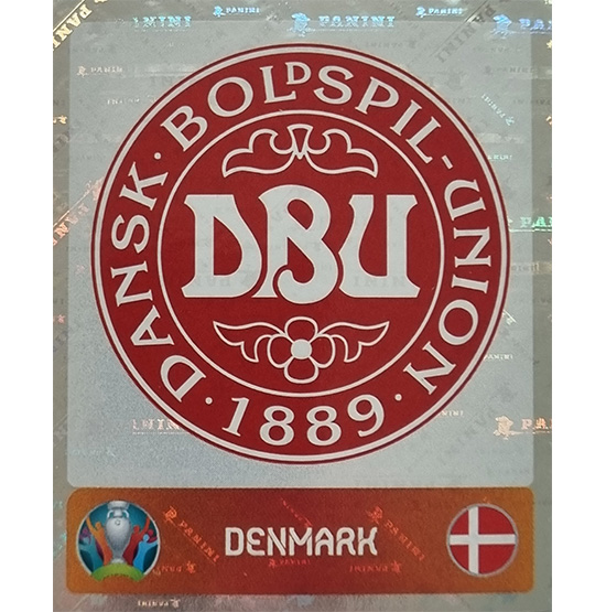 Panini EURO 2020 Sticker Nr 156 Denmark Logo