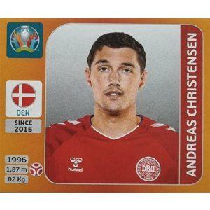 Panini EURO 2020 Sticker Nr 159 Andreas Christensen