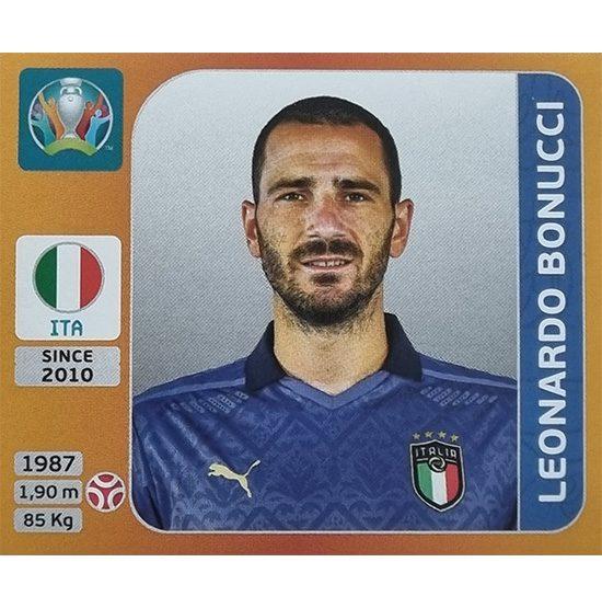 Panini EURO 2020 Sticker Nr 016 Leonardo Bonucci