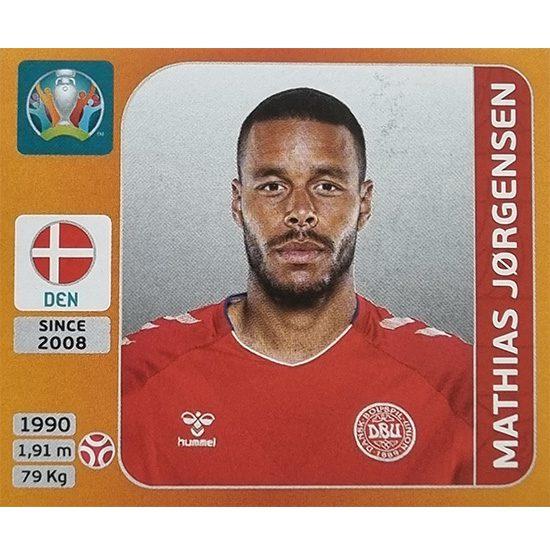 Panini EURO 2020 Sticker Nr 160 Mathias Jorgensen