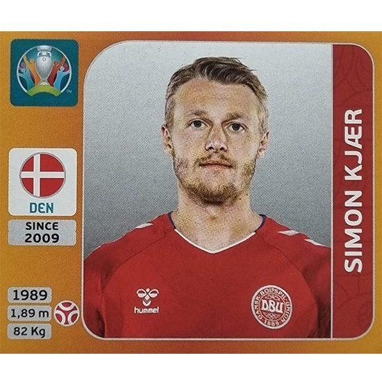 Panini EURO 2020 Sticker Nr 161 Simon Kjaer