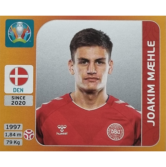 Panini EURO 2020 Sticker Nr 162 Joakim Maehle