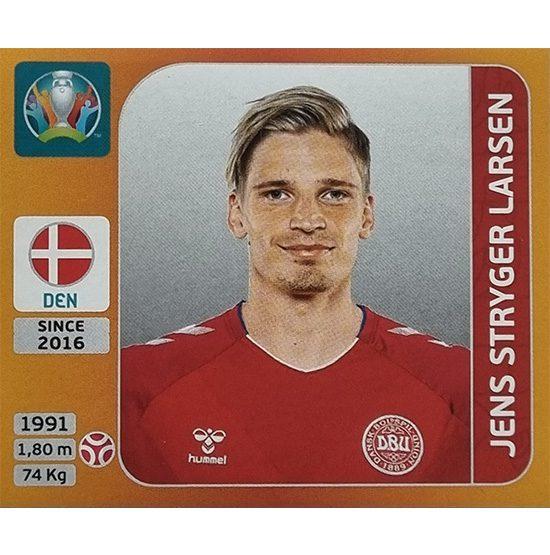 Panini EURO 2020 Sticker Nr 163 Jens Stryger Larsen