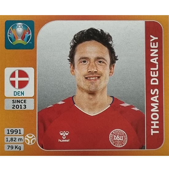 Panini EURO 2020 Sticker Nr 166 Thomas Delaney
