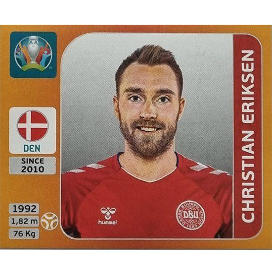 Panini EURO 2020 Sticker Nr 167 Christian Eriksen