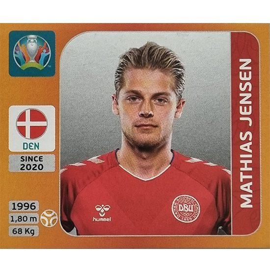 Panini EURO 2020 Sticker Nr 169 Mathias Jensen