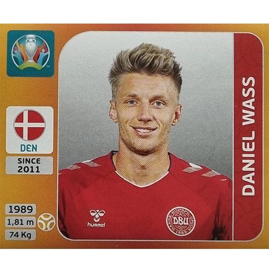 Panini EURO 2020 Sticker Nr 170 Daniel Wass