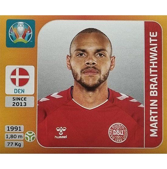 Panini EURO 2020 Sticker Nr 171 Martin Braithwaite