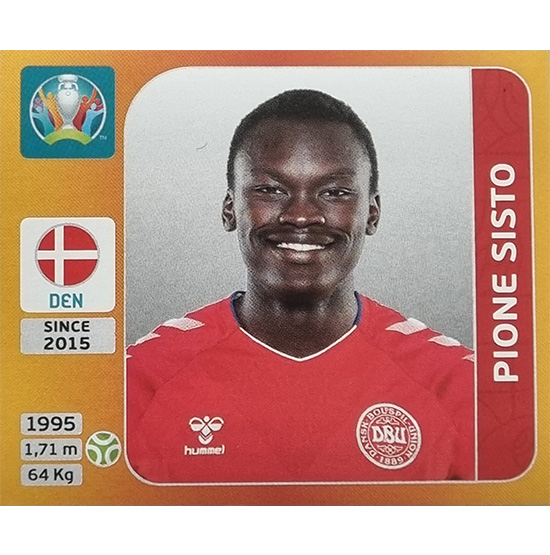 Panini EURO 2020 Sticker Nr 174 Pione Sisto
