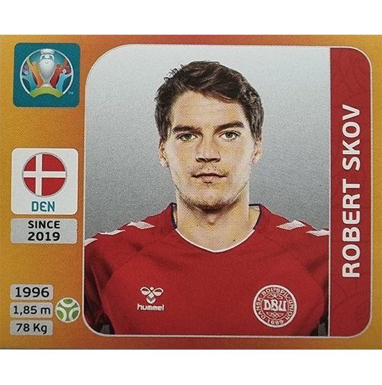 Panini EURO 2020 Sticker Nr 175 Robert Skov