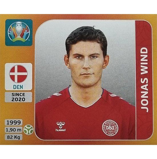 Panini EURO 2020 Sticker Nr 176 Jonas Wind