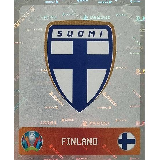 Panini EURO 2020 Sticker Nr 177 Finland Logo