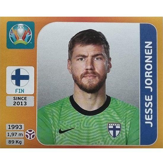 Panini EURO 2020 Sticker Nr 179 Jesse Joronen