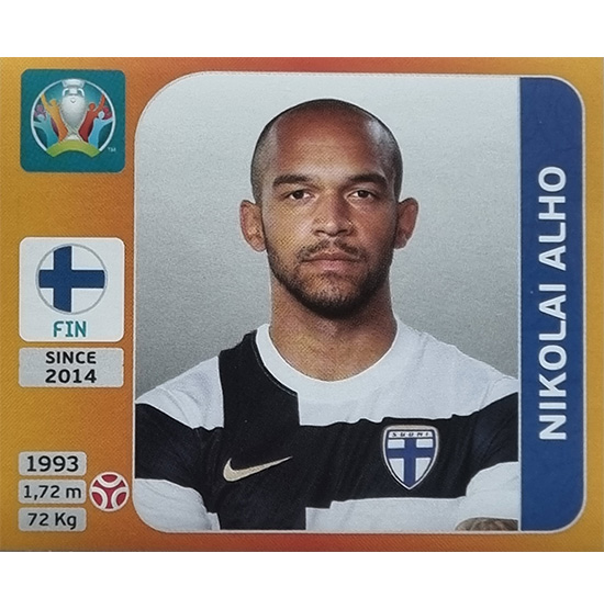 Panini EURO 2020 Sticker Nr 180 Nikolai Alho
