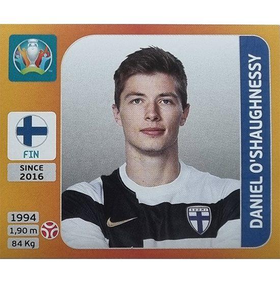 Panini EURO 2020 Sticker Nr 182 Daniel O´Shaughnessy