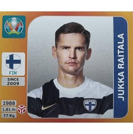 Panini EURO 2020 Sticker Nr 183 Jukka Raitala