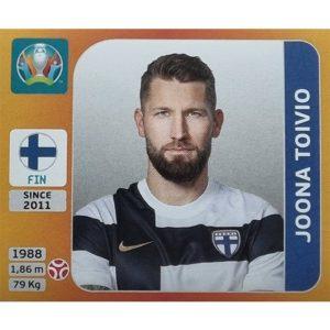Panini EURO 2020 Sticker Nr 184 Joona Toivio