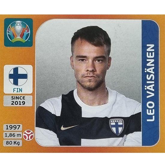 Panini EURO 2020 Sticker Nr 186 Leo Väisänen