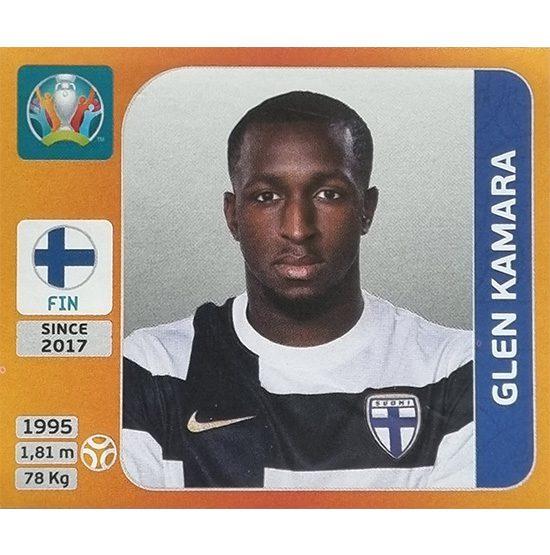 Panini EURO 2020 Sticker Nr 187 Glen Kamara