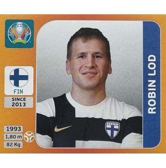 Panini EURO 2020 Sticker Nr 189 Robin Lod