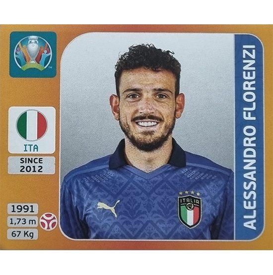 Panini EURO 2020 Sticker Nr 019 Alessandro Florenzi