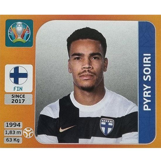 Panini EURO 2020 Sticker Nr 192 Pyry Soiri