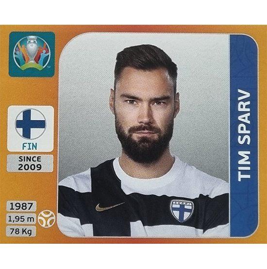 Panini EURO 2020 Sticker Nr 193 Tim Sparv