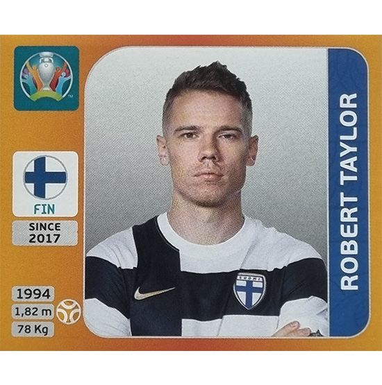 Panini EURO 2020 Sticker Nr 194 Robert Taylor
