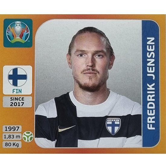 Panini EURO 2020 Sticker Nr 195 Frederik Jensen