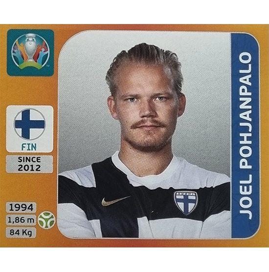 Panini EURO 2020 Sticker Nr 196 Joel Pohjanpalo
