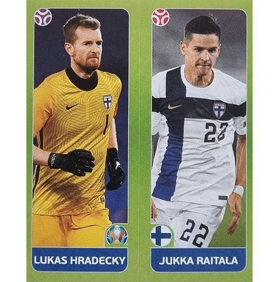 Panini EURO 2020 Sticker Nr 198 Hradecky Raitala