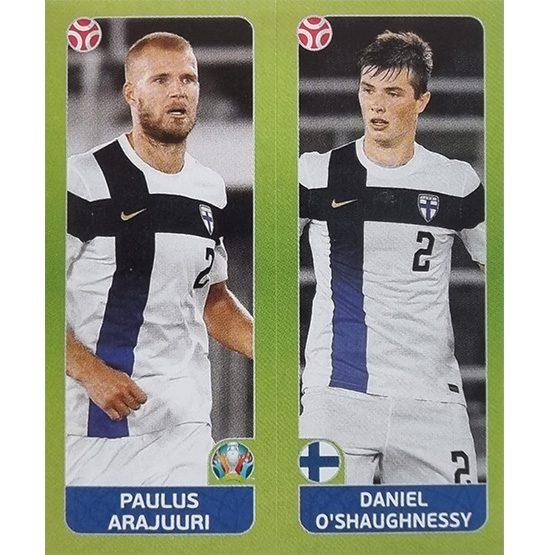 Panini EURO 2020 Sticker Nr 199 Arajuuri o Shaughnessy