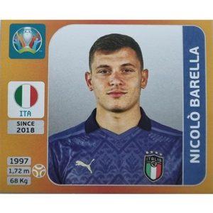 Panini EURO 2020 Sticker Nr 020 Nicolo Barella