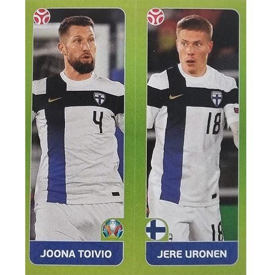 Panini EURO 2020 Sticker Nr 200 Toivio Uronen