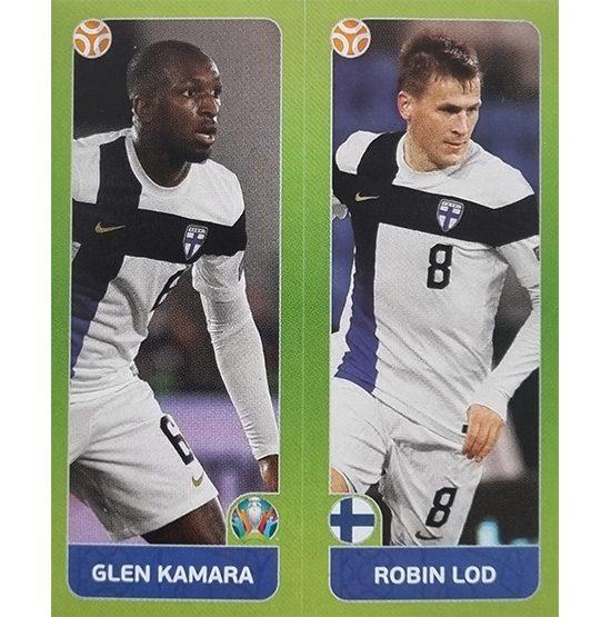 Panini EURO 2020 Sticker Nr 201 Kamara Lod