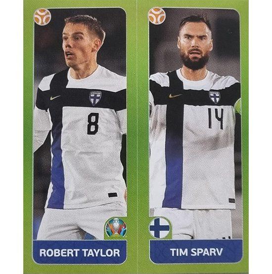 Panini EURO 2020 Sticker Nr 202 Taylor Sparv
