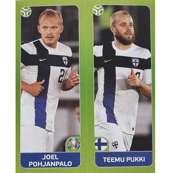 Panini EURO 2020 Sticker Nr 203 Pohjanpalo Pukki